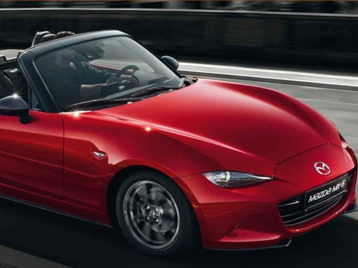 Buswerbung Motor Company Mazda