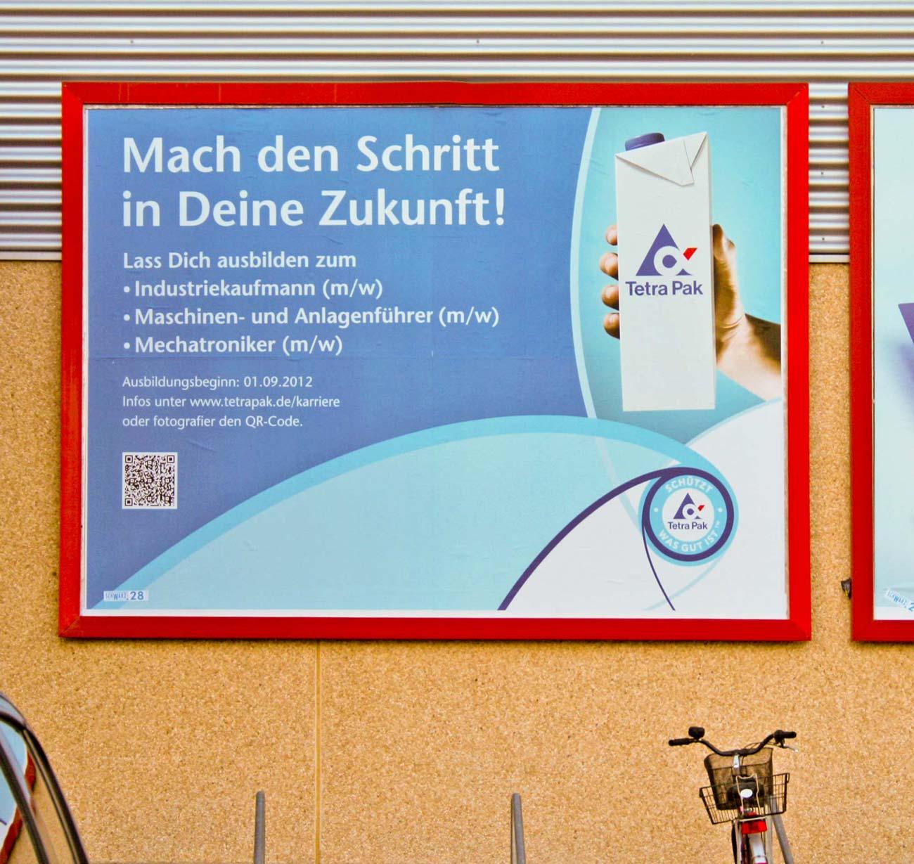aussenwerbung gro fl chenplakat tetra pak stilelement werbeagentur berlin. Black Bedroom Furniture Sets. Home Design Ideas