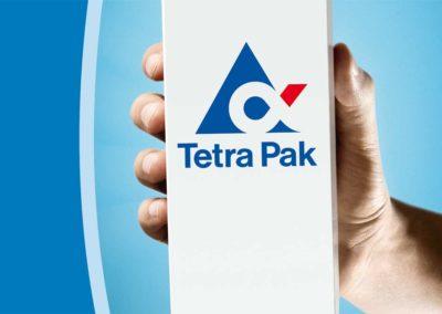Aussenwerbung Großflächenplakat Tetra Pak